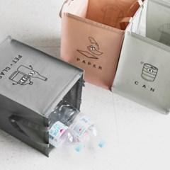 모노블 반전매력 재활용 분리수거함 3P