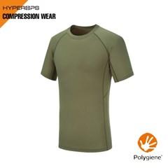POLCOM-Logo T-Shirt / Polygiene _ 밀리터리/택티컬_(1755214)