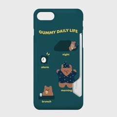 pattern daily life gummy 카드수납케이스_(983387)