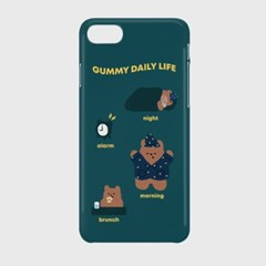 pattern daily life one gummy 하드케이스_(983207)