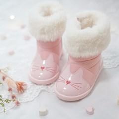 [쿵스쿵스] 토토방한부츠(핑크) 아기부츠 유아부츠 아기부츠