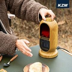 카즈미 카민 빈티지 감성난로 PTC 히터 K21T3F02 / 미니히터