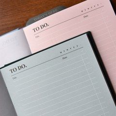(만년형) Daily To Do Journal