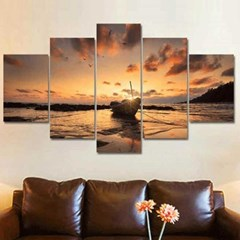 Home gallery CANVAS WALL ART 5분할액자 CH1507714