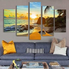 Home gallery CANVAS WALL ART 5분할액자 CH1507690