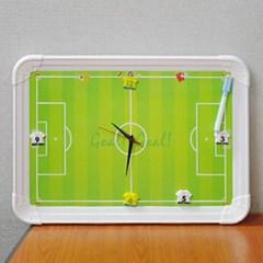 메모가 가능한 축구장 보드판 벽시계