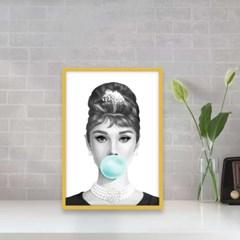 알루미늄 액자 집꾸미기 소품 A4 할리우드