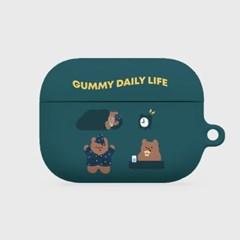 pattern daily life gummy 에어팟프로 하드케이스_(983810)