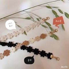 fw 데이지 마스크목걸이 / fw daisy mask_necklace
