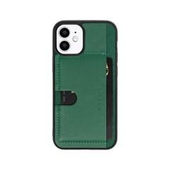 스매스 아이폰12 미니 천연소가죽 보호 카드포켓 케이스 푸쉬포켓