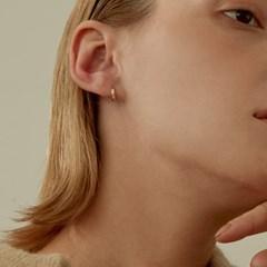 14k Gold Luna Cutting Ring Earrings (14k gold).24