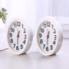 여기저기 두고 쓰는 가성비 아날로그 알람 탁상 시계