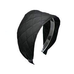 quilting basic hairband (black)