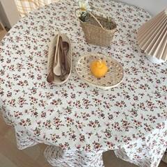 감성 플라워 식탁 테이블보 2size