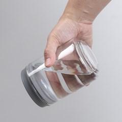 원터치 스마트 진공 유리 밀폐용기 유리병 보관용기_(2439929)