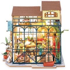 DG145 에밀리의 꽃집 D.I.Y 미니어처 하우스