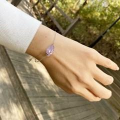 Violet quartz Bracelet