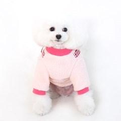 [ODD PET][ODD STUDIO] 또또또 뽀글이 가방 T - 누또(핑크)