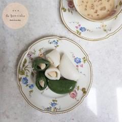 하얀앙금 흰바람떡 쑥바람떡 (650g 2팩) 흰앙금 백앙금