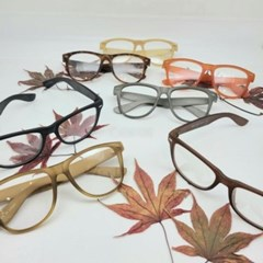 뿔테 가벼운 투명 도수없는 그레이 블랙 패션 안경
