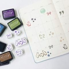 Cat Stamp Set