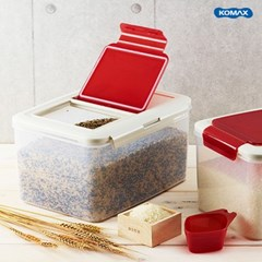 코멕스 신선 다용도쌀통 10kg + 잡곡통 2kg