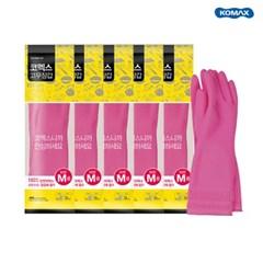 코멕스 고무장갑 핑크 5개 (S,M,L,XL)