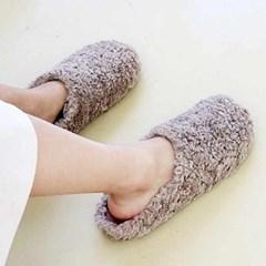 kami et muse Rich fur slippers_KM20w182