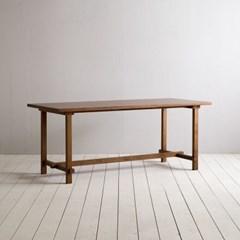 [이니시스] 장미맨숀 로사 원목 다이닝 테이블 식탁 1800