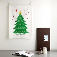 소소한잡화점 크리스마스 트리 패브릭포스터