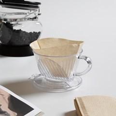 커피 여과지 콘 필터 1-2인 40매_(1746695)