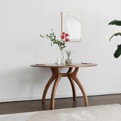[블랙러버] A형 원형식탁/테이블 1000_(1640147)