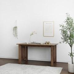 [프릴브라운] 4인용식탁/테이블 1400_(1640146)