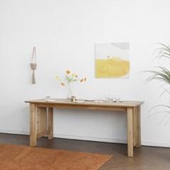 [프릴내츄럴] 6인용식탁/테이블 1800_(1640145)