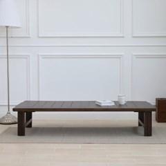 늘솔길 소나무 원목 다용도 접이식 좌식 테이블1500