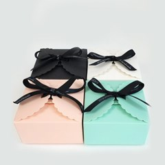 파스텔 선물박스 상자 포장 답례품 축하 생일