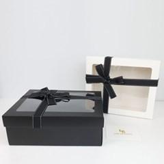 발렌 리본 선물 상자 박스 포장 축하 생일 기념일