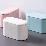 [1+1] 원터치 화장대 책상 미니 휴지통 3color