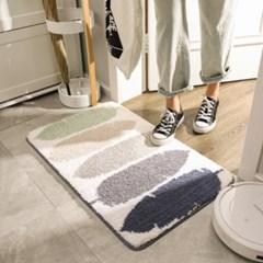 흡수력 좋은 욕실 화장실 주방 발 매트 현관 러그 4type