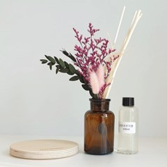 핑크팝 프리저브드 꽃다발 디퓨저+선물 박스