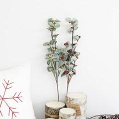 열매 조화 가지 장식 - 2color