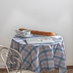 쉐어인디파스텔 식탁보 테이블보 120x120cm 테이블러너