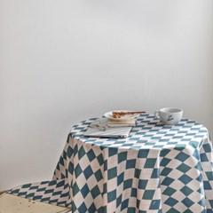 쉐어빈티지아가일 식탁보 테이블보 120x120cm 테이블러너