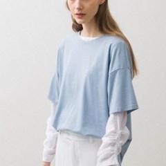 Tencel T-shirts - Baby Blue