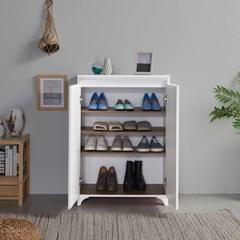 [에띠안]커브 700 슬림 사무실 원룸 아파트 현관 신발장 5색상