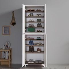 [에띠안]커브 600 C형 사무실 원룸 아파트 현관 키큰 신발장 5색상