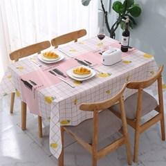 식탁보 테이블매트 방수식탁보 무드온 감성테이블보 3장 1set