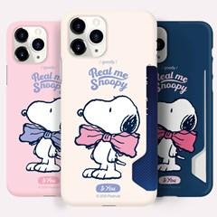 오요앤올리 스누피 리얼미리본 3종 카드하드 휴대폰케이