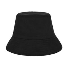 [바잘] 코튼 버킷햇 블랙