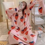 커플 겨울 캐릭터 수면 잠옷 12종 [여성 극세사 파자마 원피스 바지]